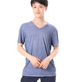 ゲス GUESS S/S WASHED GUNNAR V-NECK TEE (INDG)