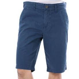 ゲス GUESS SUMMERY FLAT FRONT CLASSIC-FIT SHORT (INSIGNIA BLUE)