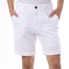 ゲス GUESS SUMMERY FLAT FRONT CLASSIC-FIT SHORT (TRUE WHITE)