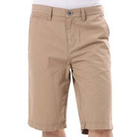 ゲス GUESS ICONIC TWILL CLASSIC-FIT SHORT (CONCORD BROWN)