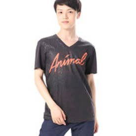 ゲス GUESS S/S NEON ANIMAL V-NECK TEE (PHANTOM)