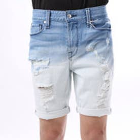ゲス GUESS SLIM DENIM SHORT (RUSH WASH W/ DESTROY)