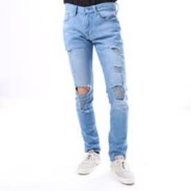 ゲス GUESS SLIM TAPERED DENIM PANT (STEP UP WASH W/ DESTROY)