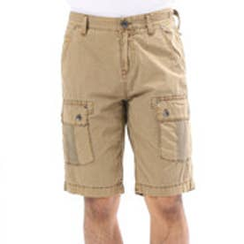 ゲス GUESS PAUL POPLIN CARGO SHORT (CONCORD BROWN)