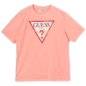 ゲス GUESS Originals S/S CLASSIC LOGO TEE (PINK)【JAPAN EXCLUSIVE ITEM】