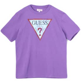 ゲス GUESS Originals S/S CLASSIC LOGO TEE (PURPLE)【JAPAN EXCLUSIVE ITEM】