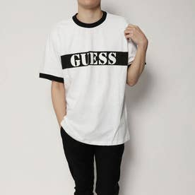 ゲス GUESS Originals S/S RINGER TEE (BLACK)【JAPAN EXCLUSIVE ITEM】