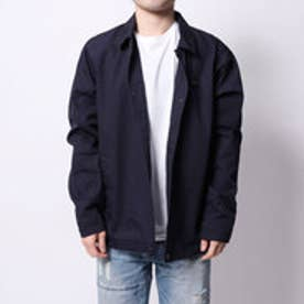 ゲス GUESS WOVEN COACH JACKET (NAVY)