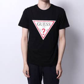 ゲス GUESS TRIANGLE LOGO S/S TEE (BLACK)