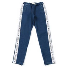 ゲス GUESS GUESS Originals SIDE LINE DENIM TRACK PANT 【JAPAN EXCLUSIVE ITEM】 (MEDIUM BLUE)