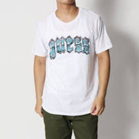 ゲス GUESS CHROME GRAPHIC LOGO TEE (PURE WHITE)
