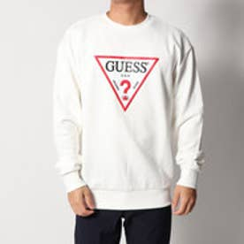 ゲス GUESS TRIANGLE LOGO SWEAT (IVORY)