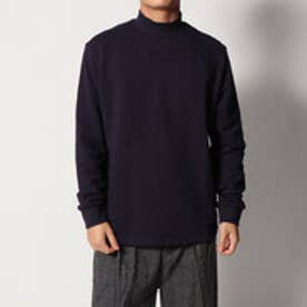 ゲス GUESS USA LOGO MOCKNECK SWEAT (NAVY)