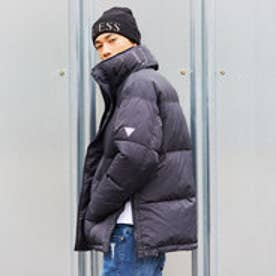 ゲス GUESS LOGO DOWN JACKET (BLACK)
