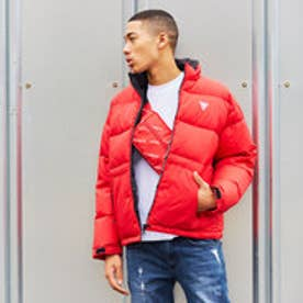 ゲス GUESS PUFFA DOWN JACKET (RED)