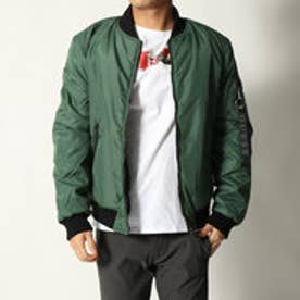 ゲス GUESS REVERSIBLE FIGHTER BOMBER JACKET (URBAN FOREST)