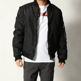 ゲス GUESS REVERSIBLE FIGHTER BOMBER JACKET (JET BLACK)