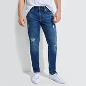 ゲス GUESS SLIM TAPERED DESTROYED DENIM PANT (ALAMEDA WASH W/ DESTROY)