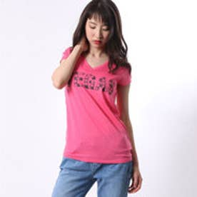ゲス GUESS S/S DESTINATION PERFECT V-NECK TEE (SWEET THANG)