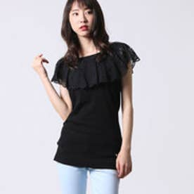 ゲス GUESS LADIES SL TOP (BLACK)