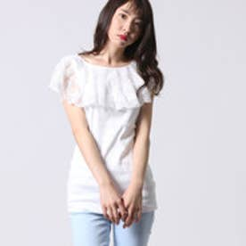 ゲス GUESS LADIES SL TOP (IVORY)