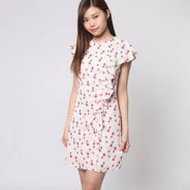 ゲス GUESS IKNUR DRESS (LITTLE PEACH FLOWER)