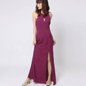 ゲス GUESS JOSEE MAXI DRESS (SANGRIA)