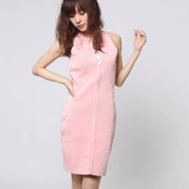 ゲス GUESS SL MIRAGE LACE-UP BANDAGE DRESS (CORAL CLOUD)