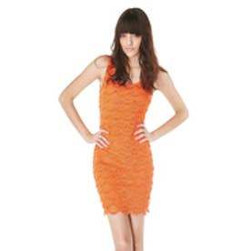 ゲス GUESS SL CARSON DRESS (FIRE ORANGE)