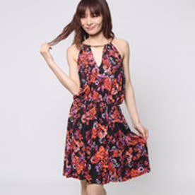 ゲス GUESS SL MARAKECH DRESS (MAJORELLE GARDENS JET BLACK)