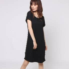 ゲス GUESS TALILAH T-SHIRT DRESS (JET BLACK)