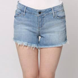 ゲス GUESS BRITTNEY DENIM SHORT (PALETTE W. DESTROY WASH)