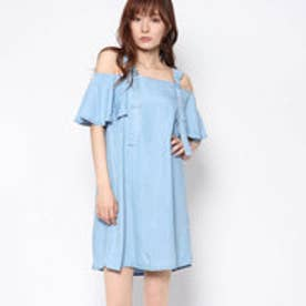 ゲス GUESS LANA DENIM DRESS (SUMMER SEA WASH)