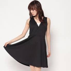 ゲス GUESS ALLEGRA DRESS (JET BLACK)