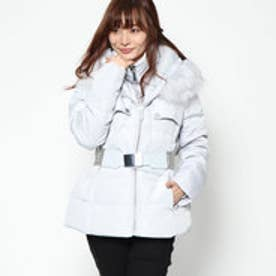 ゲス GUESS PIUMINO VIOLETTE DOWN JACKET (LIGHT ICE GREY)