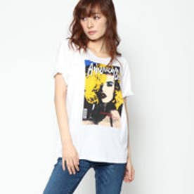 ゲス GUESS AMERICAN DREAM GRAPHIC TEE (AMERICAN ICON PRINT WHITE)