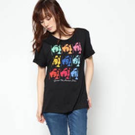 ゲス GUESS AMERICAN DREAM GRAPHIC TEE (POP FACE PRINT BLACK)