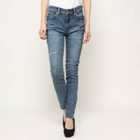 ゲス GUESS ULTRA ANKLE SKINNY DENIM PANT (MEDIUM BLUE)