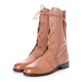 ルクールタンドル le coeur tendre ブーツ ミドル レザーブーツ Coolway クールウェイ (Brown)