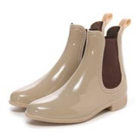 【雨の日対応☆】ブリジットバーキン Bridget Birkin サイドゴアレインショートブーツ(ベージュ)