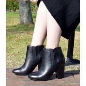 ブリジット バーキン Bridget Birkin Bridget Birkin【PARADIS COULEUR】9cmヒールサイドゴアショートブーツ (ブラック)