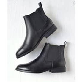 ブリジット バーキン Bridget Birkin 【PARADIS COULEUR】 柔らかソールサイドゴアショートブーツ (ブラック)