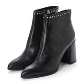 ブリジット バーキン Bridget Birkin 9cmチャンキーヒールスタッズブーツ (ブラック)