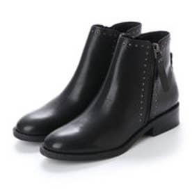 ブリジット バーキン Bridget Birkin 3.5cmスタッズショートブーツ (ブラック)