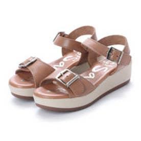 オー マイ サンダルズ Oh my Sandals 【INTER-CHAUSSURES】クッションインソールバックルサンダル (ベージュ)