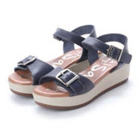 オー マイ サンダルズ Oh my Sandals 【INTER-CHAUSSURES】クッションインソールバックルサンダル (ネイビー)