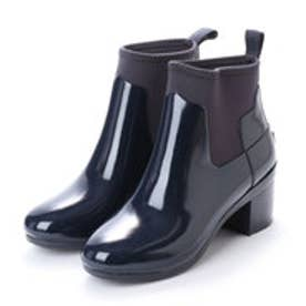 ハンター HUNTER REFINED MID HEEL GLOSS (NVY)