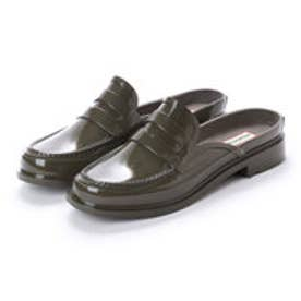 ハンター HUNTER BACKLESS GLOSS PENNY LOAFER (SGR)