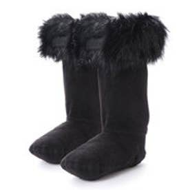 ハンター HUNTER KIDS ORG BS FAUX FUR CUFF (BLK)