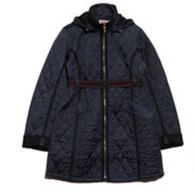 ハンター HUNTER W REFINED QUILTED TRENCH COAT (NVY)